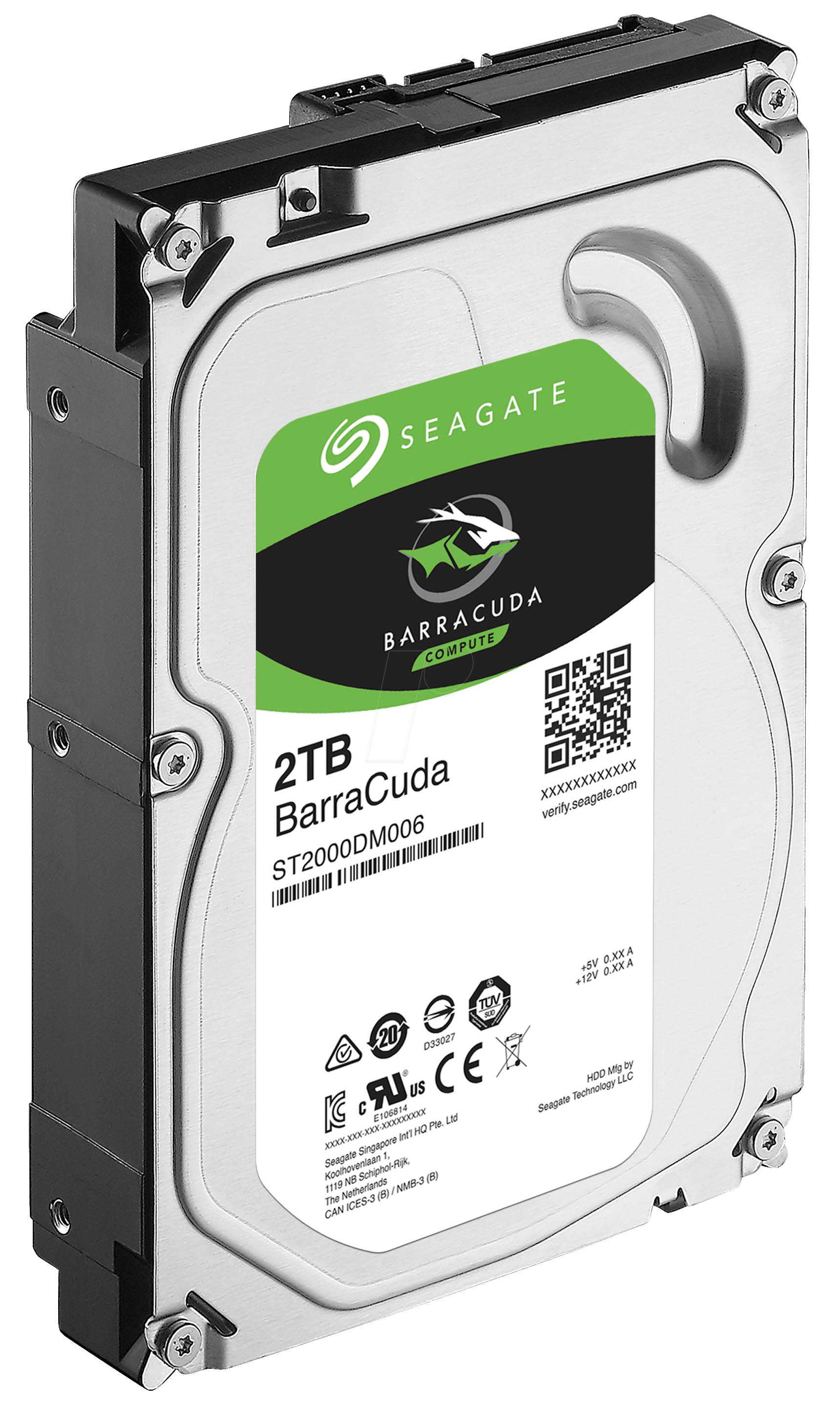 Disque dur Seagate Desktop 2 To SATA 3 (SATA 6Gb/s) 64 Mo 7200 trs/mn (bulk), informatique ile de la Réunion 974