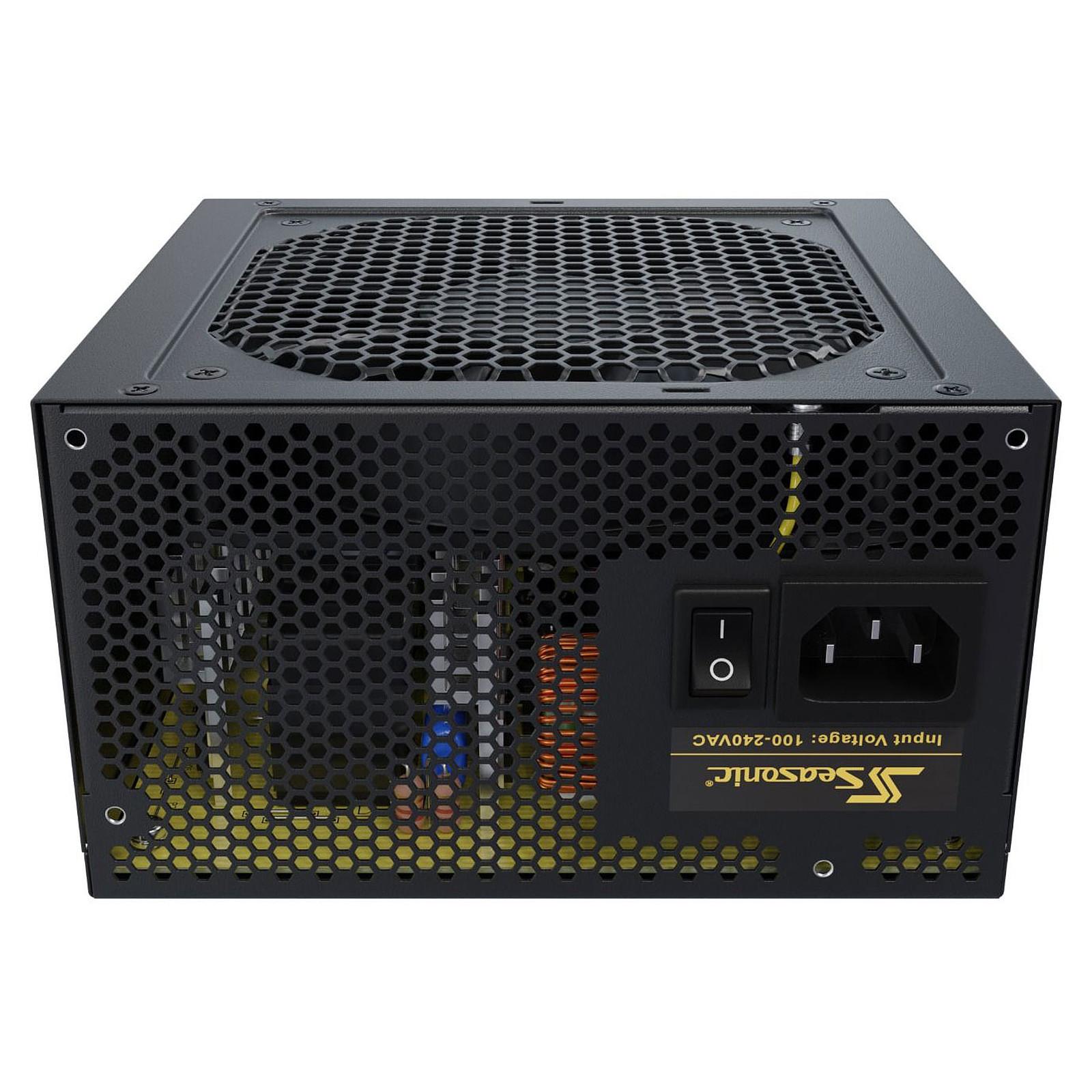 Alimentation PC 500W Seasonic Core GC-500 80 Plus Gold, informatique ile de la Réunion 974, Futur Réunion Informatique