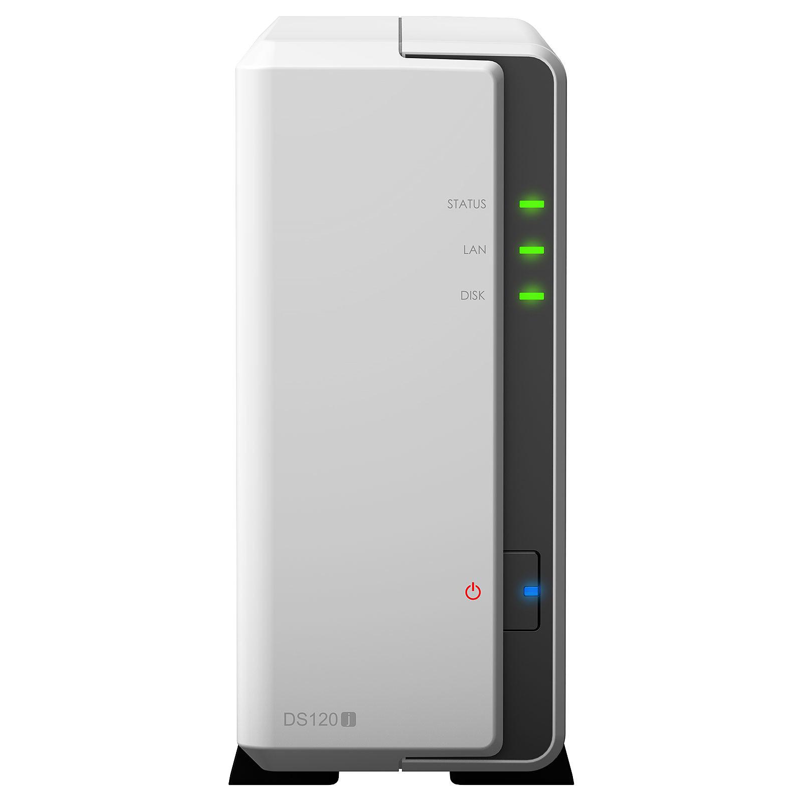 Serveur NAS Synology DS120j pour 1 disque dur SATA, informatique 974, Informatique ile de la Réunion 974