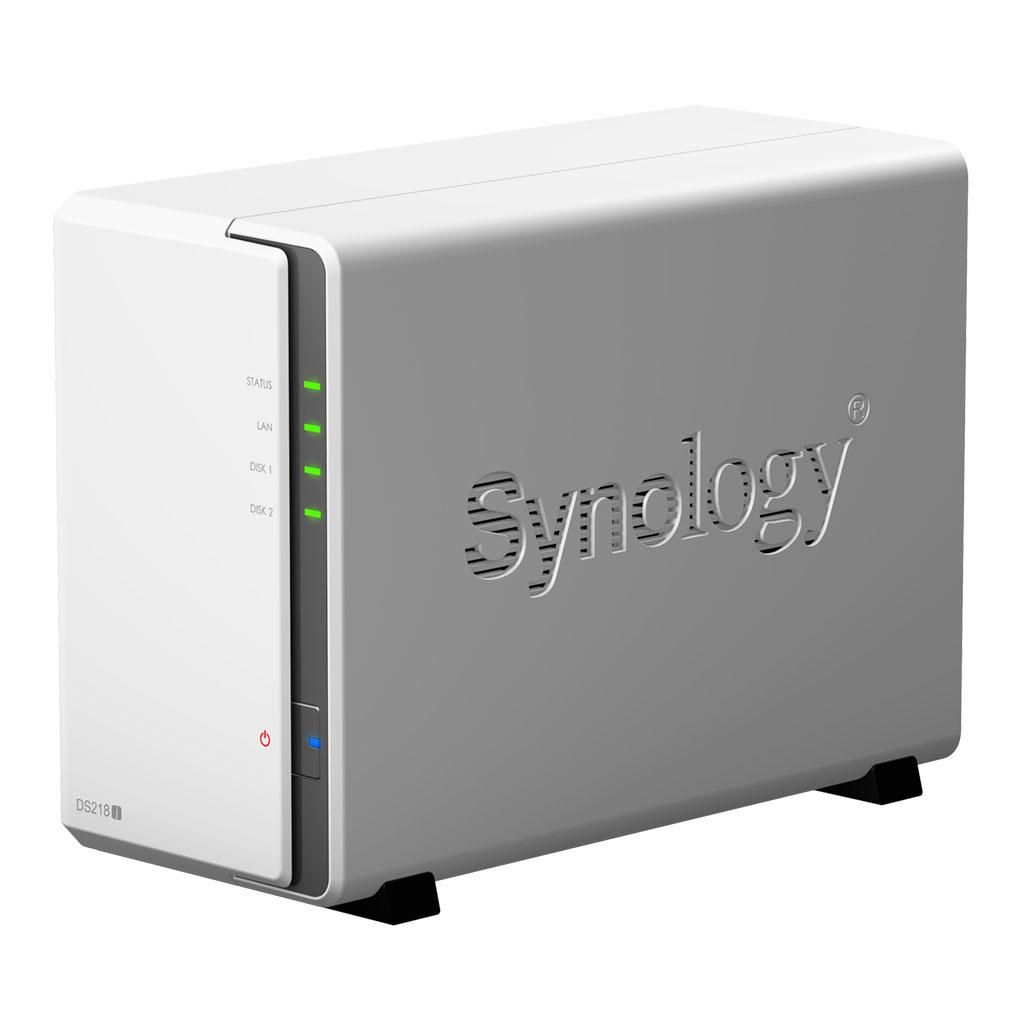 Serveur NAS Synology DS218j pour 2 disques durs SATA, informatique 974, Informatique ile de la Réunion 974