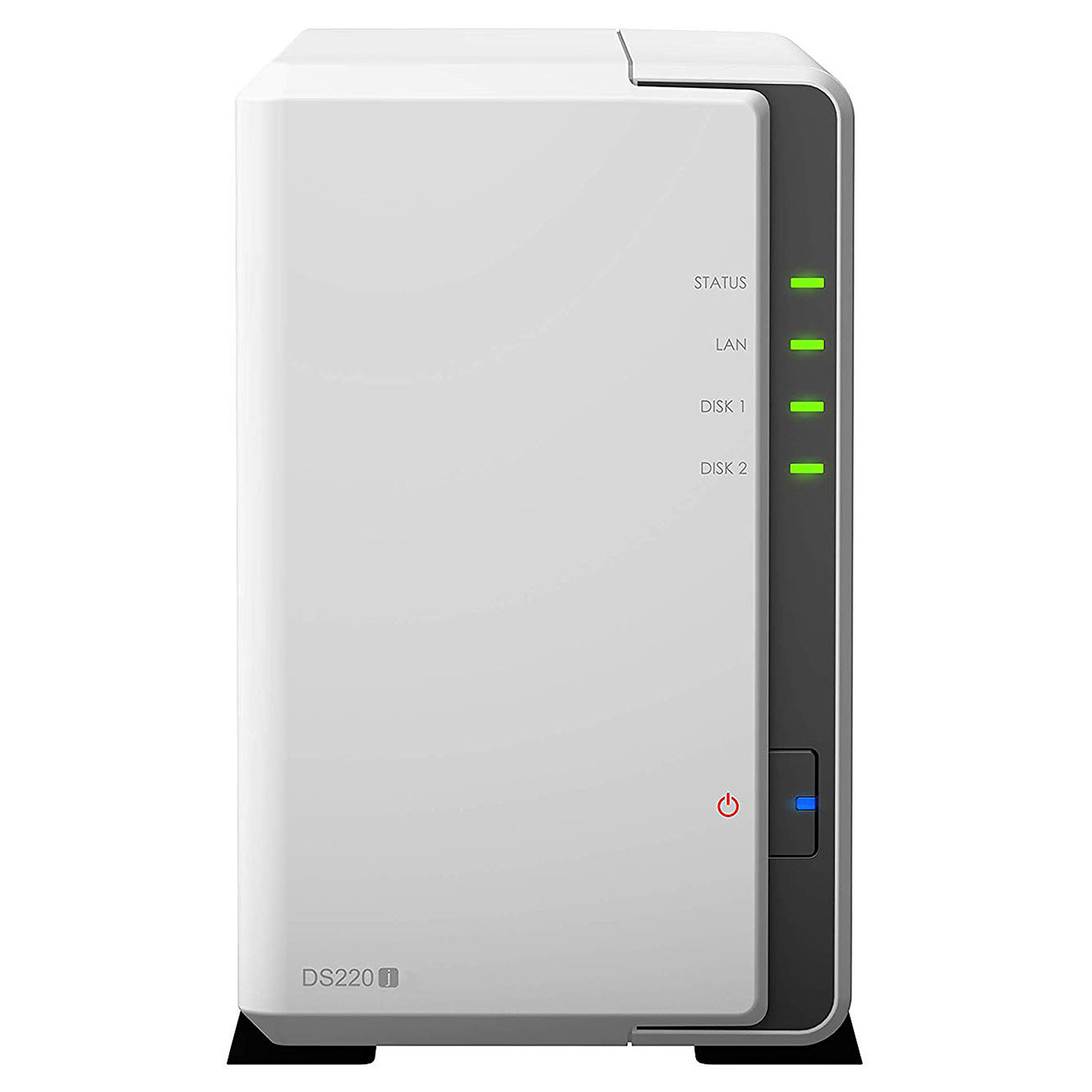 Serveur NAS Synology DS220j pour 2 disques durs SATA, informatique 974, Informatique ile de la Réunion 974