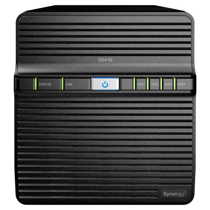 Serveur NAS Synology DS416j pour 4 disques durs SATA, Informatique ile de la Réunion 974