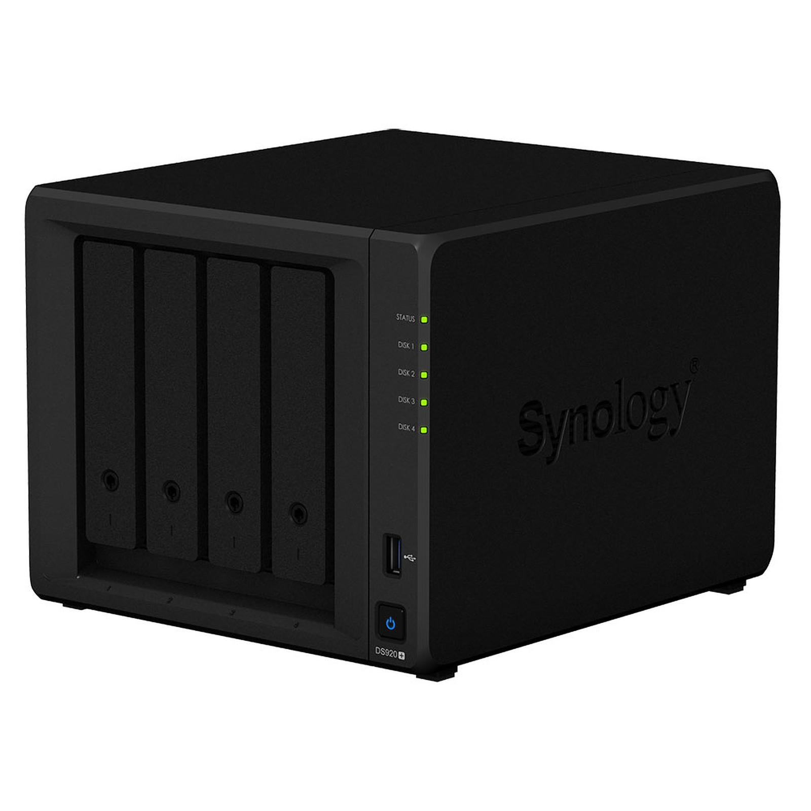 Serveur NAS hautes performances Synology DS920+ pour 4 disques durs SATA, Informatique ile de la Réunion 974