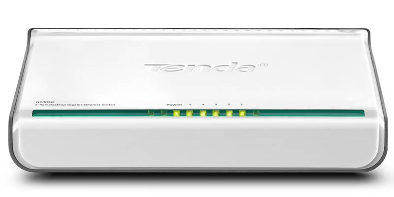 Switch réseau Gigabit 5 ports Tenda G1005D 10-100-1000 mb/s,Informatique Réunion 974