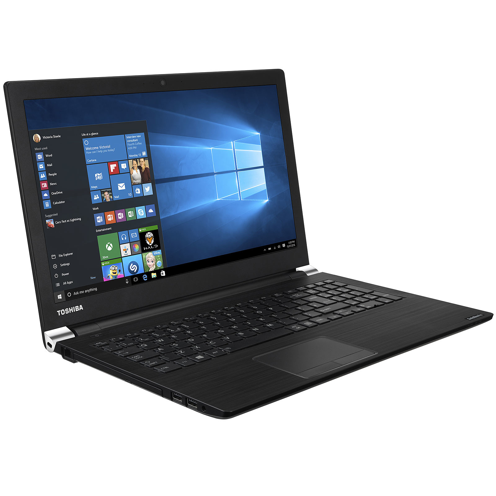 Ordinateur portable Toshiba Satellite PRO, Core i5, SSD 512 Go, 8 Go, 15.6 pouces LED, W10 PRO 64bits, informatique Reunion 974, Futur Réunion informatique