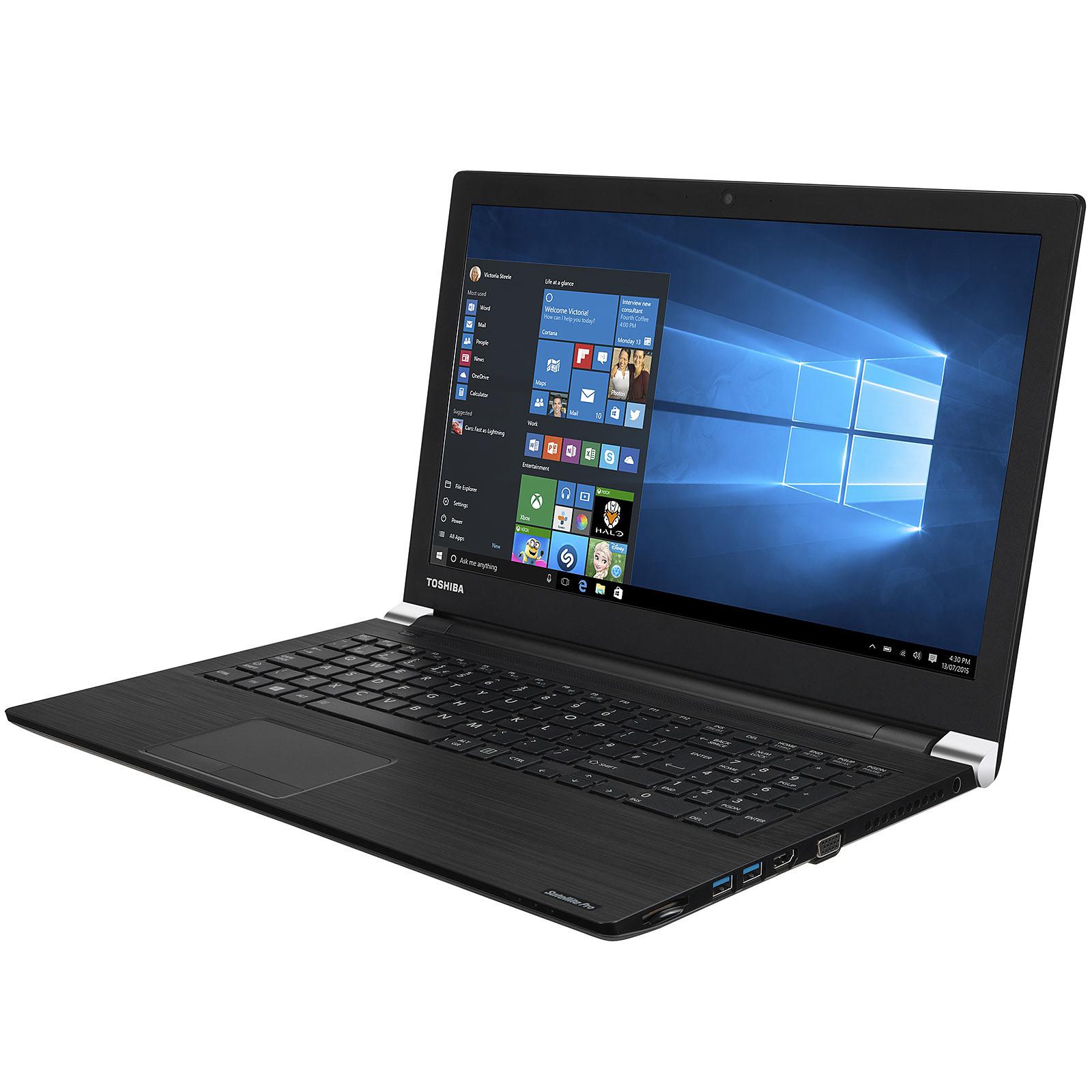 Ordinateur portable Toshiba Satellite PRO, Core i5, SSD 512 Go, 8 Go, 15.6 pouces LED, W10 PRO 64bits, informatique Reunion 974, Futur Réunion informatique