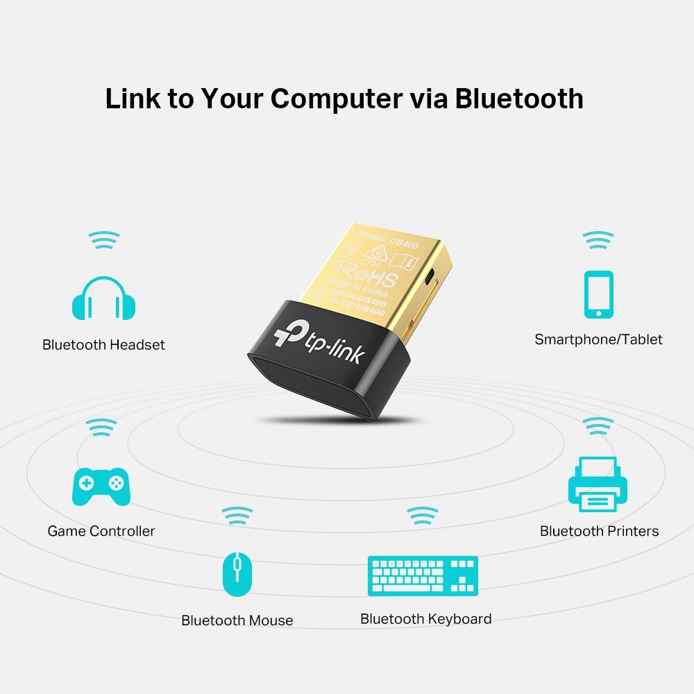 Adaptateur Bluetooth 4.0 USB TP-LINK UB400 , informatique ile de la Réunion 974