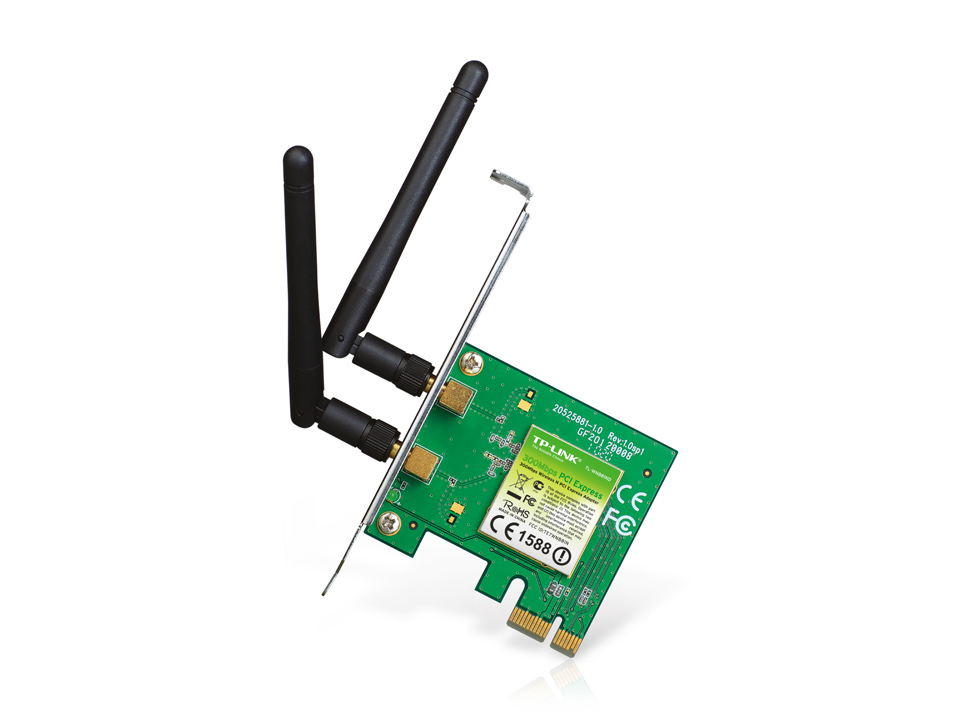 Carte réseau wifi N PCI Express (300 Mbps) TP-Link TL-WN881ND, informatique Reunion, 974, Futur Réunion