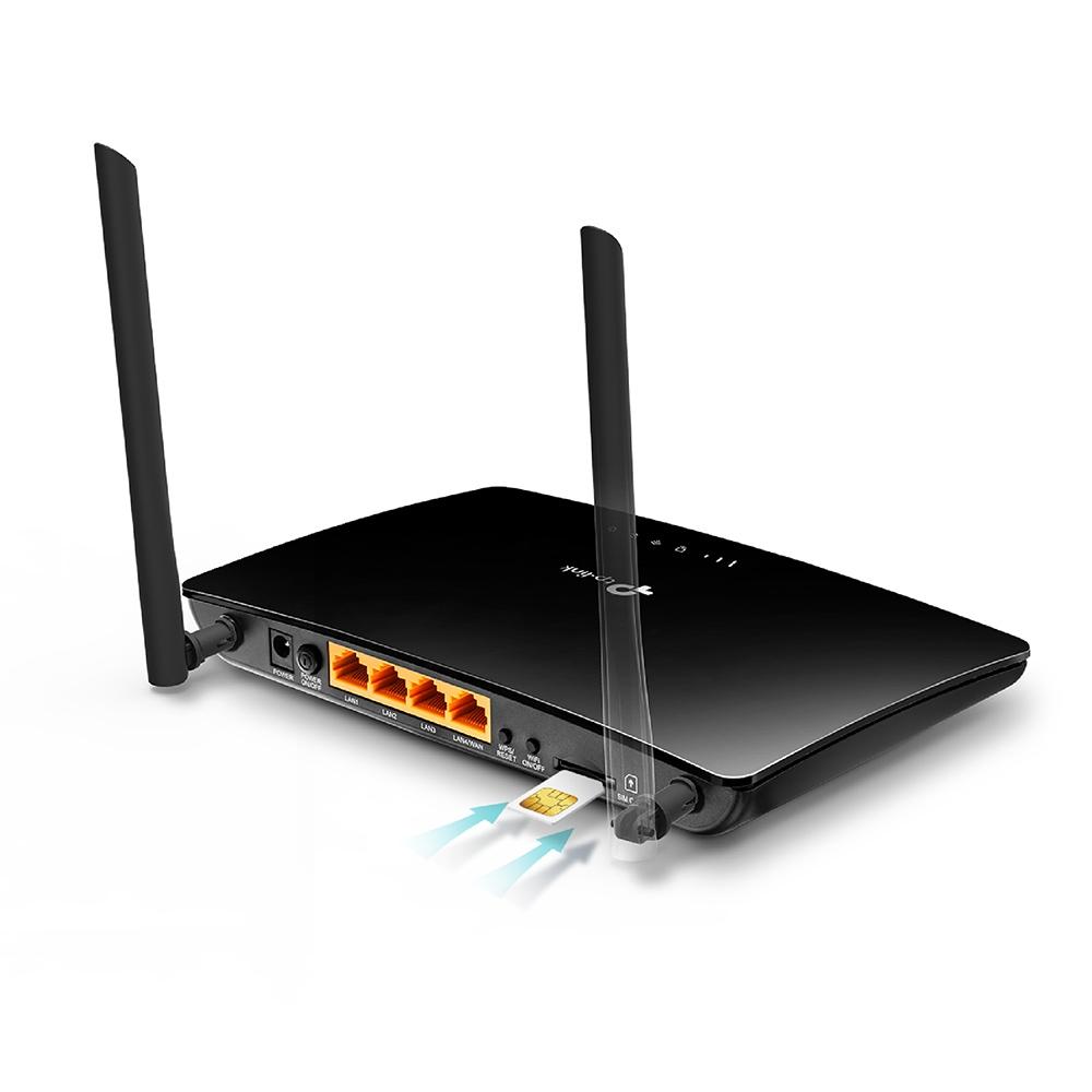 >Routeur WiFi N 300Mbps et 3G/4G TP-LINK TL-MR6400, informatique Reunion 974, Futur Réunion informatique