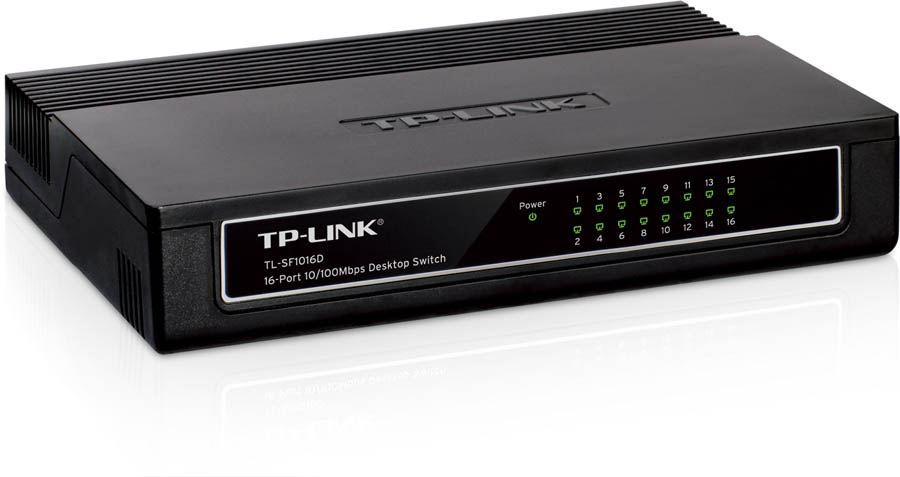 Switch 16 ports 10/100 Mbps TP-LINK TL-SF1016DS, informatique Reunion, 974, Futur Réunion