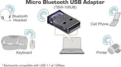Adaptateur Bluetooth USB Trendnet TBW-106UB, informatique ile de la Réunion 974