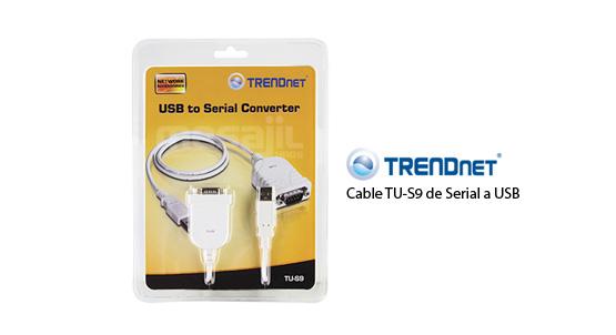 Adaptateur USB vers port Serie Trendnet TU-S9 , informatique ile de la réunion 974