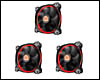 Ventilateur Thermaltake Riing RVB 120 mm pour boitier (pack 3)