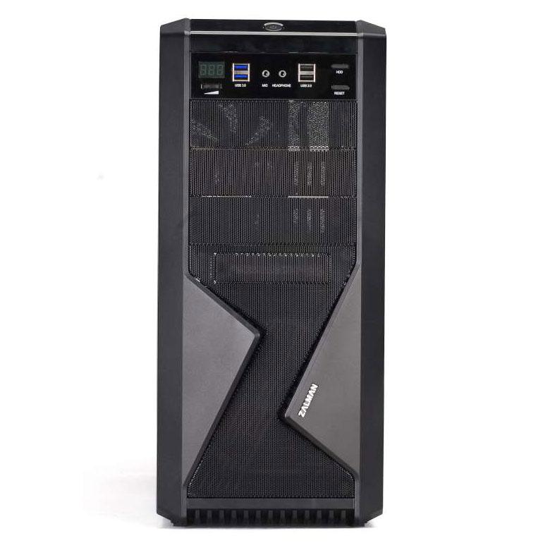 Boitier PC Zalman Z9-U3 Moyen tour ATX/mATX Noir(sans alim)
