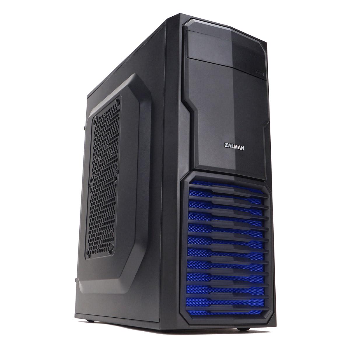 Boitier PC Zalman ZM-T4 Plus Mini tour ATX/mATX Noir(sans alim), informatique 974, informatique ile reunion