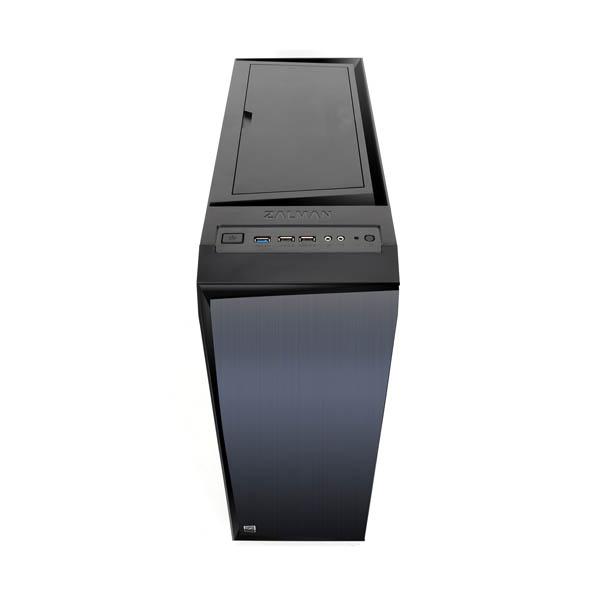 Boitier PC Zalman R1 Moyen Tour avec fenêtre(sans alim), informatique 974, informatique ile reunion