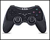 Manette sans fil SOG Wireless Gamepad pour PC, PS 2 et PS 3