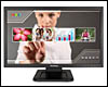 Ecran Moniteur LED 22 pouces <b>Tactile Multitouch</b> ViewSonic TD2220-2 Full HD VGA/DVI VESA 100x100