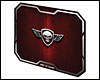Tapis de souris SPIRIT OF GAMER Red Winged Skull M (296 x 236 x 3mm)